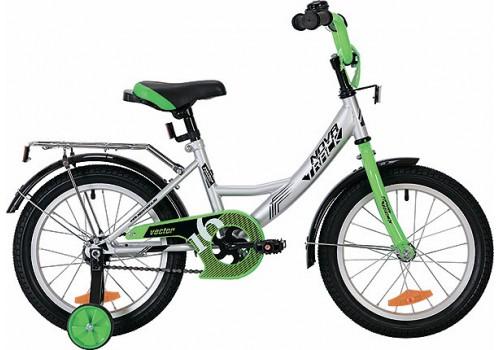 Велосипед 20 дюймов Novatrack Vector серебряный 203VECTOR.SL9