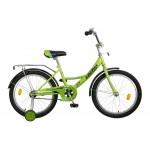 Велосипед 20 дюймов Новатрек Veсtor зеленый