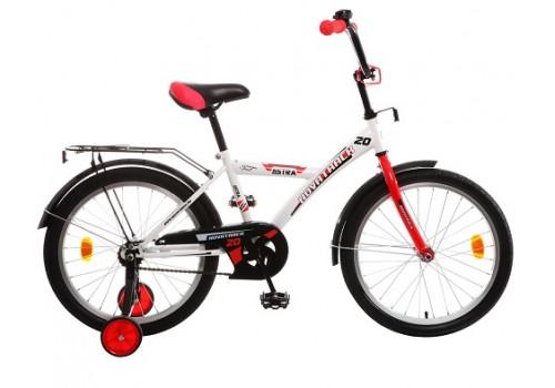 Велосипед 20 дюймов Новатрек ASTRA белый с черным 203ASTRA.WT5