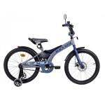 Велосипед 20 дюймов Black Agua Sharp Disc 1s серый-морская волна