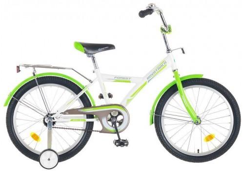 Велосипед 20 дюймов Новатрек YT FOREST бело-зеленый