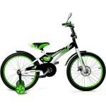 Велосипед 20 дюймов Black Aqua Sharp Disc зеленый