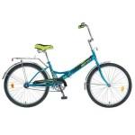 Велосипед Новатрек 24 дюймов TG синий складной