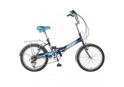 Велосипед 20 дюймов NOVATRACK FS30 синий складной 20FFS306SV.BL7
