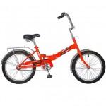Велосипед 20д.NOVATRACK складной FS30 оранжевый 20FFS301.OR8