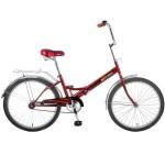 Велосипед 24 дюйма Новатрек TG складной красный
