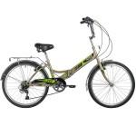 Велосипед Novatrack 24 дюйма складной TG серый 6 скоростей 24FTG6SV.GR20