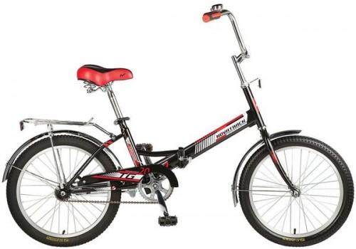 Складной детский велосипед Новатрек 20 дюймов TG30 черный