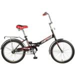 Велосипед Новатрек 20 дюймов TG30 черный складной