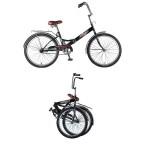 Велосипед 24 дюйма Новатрек TG складной черный 24FTG1.BK20