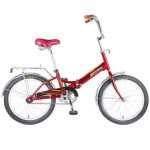 Велосипед 20 д. NOVATRACK TG20 складной, красный 20FTG201.RD7