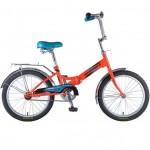 Велосипед Новатрек 20 дюймов FS20 оранжевый складной