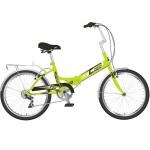 Велосипед 20 дюймов NOVATRACK складной TG30 зеленый 6 скоростей 20FTG306PV.GN20