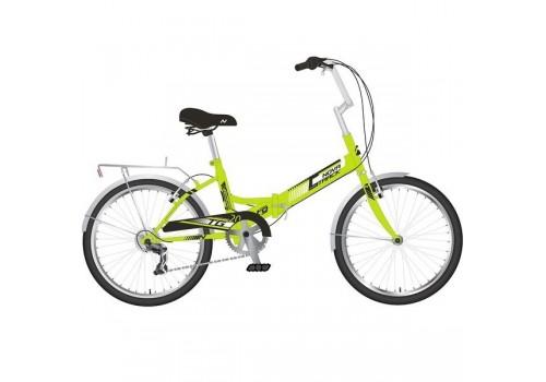 Велосипед 20 дюймов NOVATRACK складной TG30 зеленый 20FTG306PV.GN20