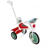 Велосипед Малыш 3-х колесный с управляемой ручкой, спинкой, кузовом 09/3