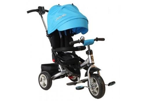 Велосипед 3-х колесный Трайк Leader голубой Moby Kids Т400