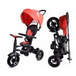 Велосипед 3-х колесный складной Moby Kids Qplay Rito с надувными колесами QA6R красный