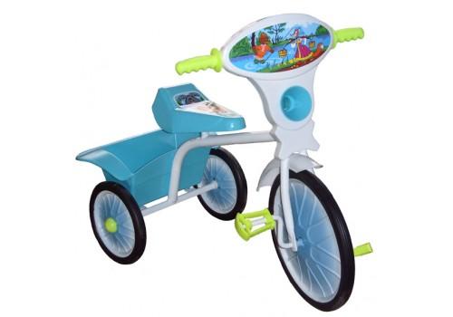 Велосипед 3-х колесный Малыш с кузовом  05