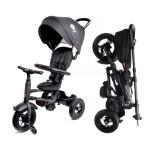 Велосипед 3-х колесный складной Moby Kids Qplay Rito с надувными колесами QA6B черный