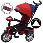 Велосипед 3-х колесный Формула 5 красный FA5R надувные колёса, поворотное сиденье