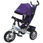 PILOT PТА3V - велосипед детский с надувными колесами фиолетовый