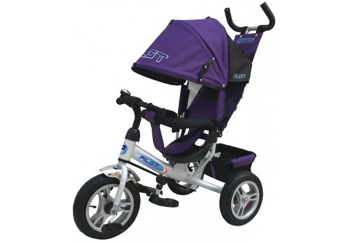 PILOT PТА3V велосипед детский с надувными колесами фиолетовый