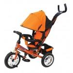 Велосипед 3-х колесный Children Tricycle P2О оранжевый надувные колеса