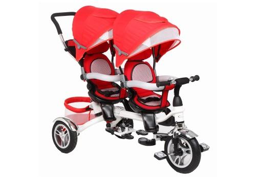 Велосипед для двойняшек 3-х колесный ВА TWINS