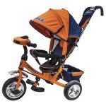 Велосипед 3-х колесный FORMULA 3 F3O с фарой, оранжевый