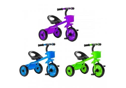 Детский трехколесный велосипед Black Agua без ручки ВА518