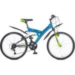 """Велосипед 24 дюйма Stinger """"Banzai"""" 18 скоростей сталь, амортизатор ,рама 16 дюймов"""