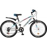 Велосипед 24 дюйма Новатрек EXTREME белый рама 10 д 24SH6SV.EXTREME.10WT7