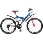 "Велосипед 26 дюйма Stinger Banzai 20"" синий TZ30/TY21/RS35"