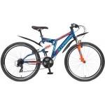 Велосипед 26 дюймов Stinger Highlander синий 21 скорость 108599