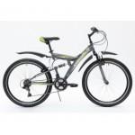 Велосипед 26 дюймов Stinger Falcon рама 20 дюймов, 18 скоростей, серый 109320