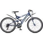 Велосипед 24 дюйма Stinger Versus 21 скорость сине-серый 99489