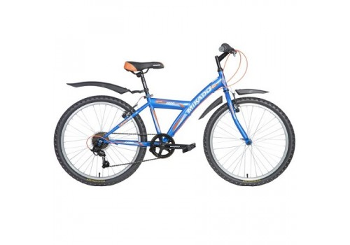 Велосипед 24 дюйма Mikado Rapid синий TY21/RS35