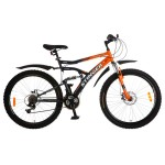Велосипед 26 дюймов Stinger Matrix SX220D серый/оранжевый
