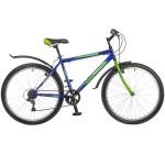 Велосипед 26 дюймов FOXX Lynx синий рама 18 дюймов