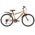 """Велосипед 24 дюйма FOXX MANGO рама 12"""" оранжевый 24SHV.MANGO.12OR1"""