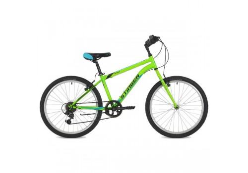 "Велосипед 24 дюйма Stinger Defender 12,5"" зелёный TY21/RS35"