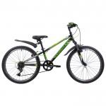 Велосипед 24 дюйма Novatrack 134055 Extreme Зелено-черный