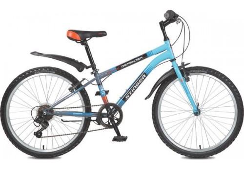 "Велосипед 24 дюйма Stinger Defender 14"" синий TY21/RS35"