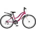 """Велосипед Novatrack 24"""" Lady красный TY21/TZ30/RS35/SG-6SI"""