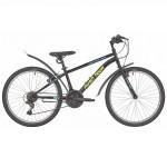 "Велосипед 24 дюйма RUSH HOUR 4000 V-brake ST рама 13"" черный 280 540"