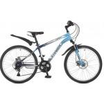 """Велосипед 24 дюйма Stinger Caiman D 12.5"""" сталь синий 117363"""