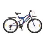 """Велосипед 26 дюймов 26"""" FOXX FREELANDER 18"""" TZ30/TY21/RS35/SW608 синий 096644"""