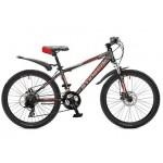 "Велосипед 26"" Stinger Aragon 250D"" серо-красный TY10/TX35/TS50 26SHD.ARAG25 20RD6"