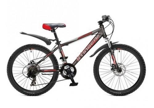 Велосипед 26 Stinger Aragon 250D серо-красный