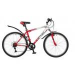 Велосипед 26 дюймов FOXX BLITZ EVO рама 18 дюймов, 18 скоростной красно/белый